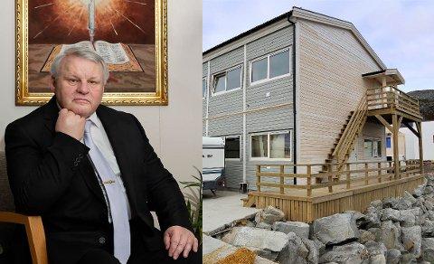 ENGASJERT: Bjørn Roald Lillevik mener Lebesby kommune må gjøre mer for å få Svein Vegar Lyder blir i kommunen.