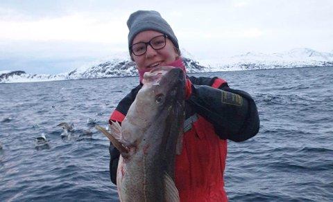 GIKK NY VEI: Tone-Lise måtte finne seg ny jobb i fjor, og det ble på havet.