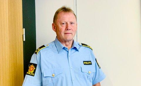 FIKK ANMELDELSEN: Etterforskningsleder Morten Hole ved Harstad politistasjon sier at de mest sannsynlig skal gjøre avhør av gjester og ansatte som var på Verftet 29. desember.
