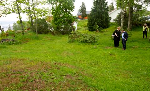 AREALET: I den søndre delen av parken ved Duuns hus ligger det aktuelle arealet. Foto : Jarl Rehn-Erichsen