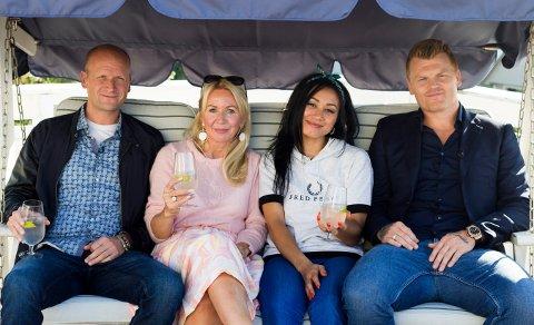 Denne uken er det tidligere fotballspiller John Arne Riise, blogger Anne Brith Davidsen, sportsjournalist Pål Gordon Nilsen og artist Linda Vidala som besøker hverandre.