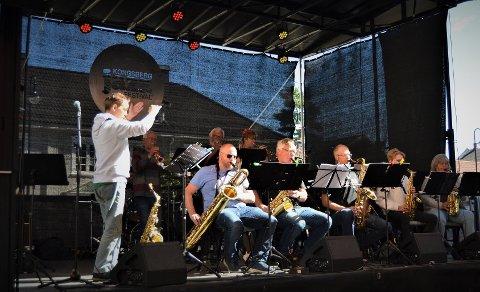BLIR Å HØRE: Kongsberg Storband har åpen øvelse i Sølvsalen 2. september. Det er gratis å komme og høre på.