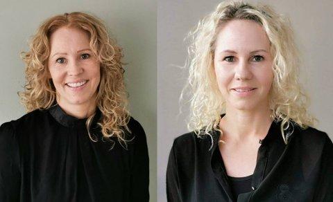 NYETABLERING: Liss Gørill og Monica Knedal har etablert LM Interiør AS  som skal stå for driften av Arntine's Interiør i Svolvær.