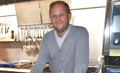 FORNØYD: Hotellsjef Kristian Talmo er fornøyd med at det ble pluss i regnskapet i 2020