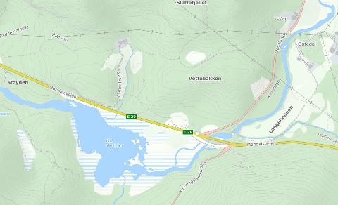 NÆRINGSAREALER: Ny E39 legger beslag på mye av næringsområdet Lindland Eiendom jobber med ved Vottebakken. Eiendomsselskapet er redd Lyngdal kan havne på defensiven om det ikke klargjøres nye næringsarealer.