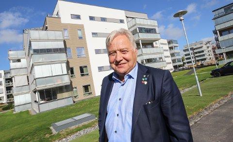 PÅ TOPPEN: Ordfører Olav Breivik (H) i Hobøl er god for 147 millioner kroner.