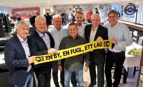 Ole-Johnny Henriksen, Erland Johnsen, Geir Henæs, Kjell Rune Hansen, Rune Tangen, Svein Grøndalen og Einar Jan Aas