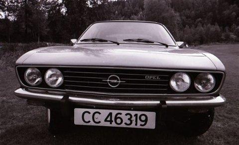 Dollarglis? Nei da, bare en Opel med kraftig vidvinkel.