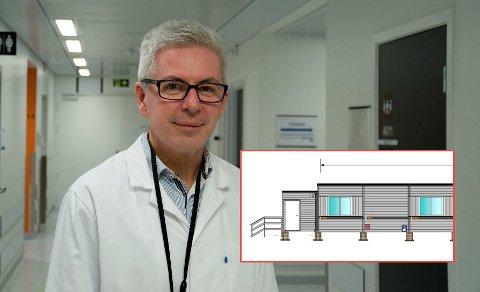 Avdelingssjef ved bildediagnostikk er fornøyd med at kapasiteten for mammografi økes.