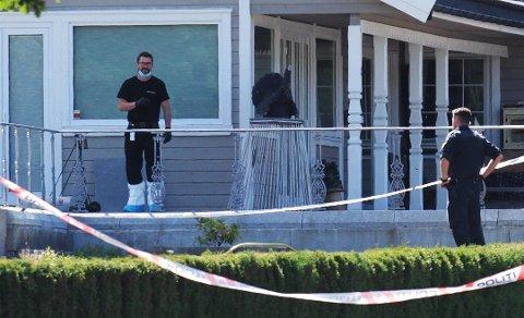 VOLDSOMT: Ekteparet Arne og Vigdis Urstad ble brutalt ranet i sitt eget hjem i Rygge