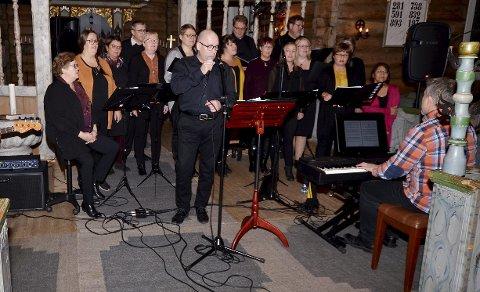 Deltar: Rondane Gospelkor deltar på Black Gospel på Vinstra.