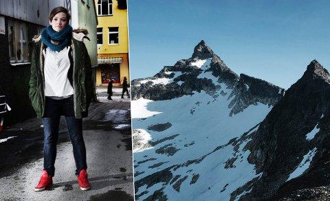 Silje Lundberg og Naturvernforbundet kommer til å protestere mot de nye småkraftutbyggingene det nå søkes om i Tromsø. I planområdet ligger flere populære turmål, innfelt fjellet Hamperokken på Breivikeidet.