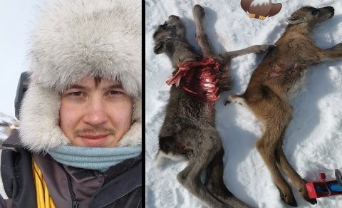 TÆRER PÅ: Per Thomas Oskal er plaget med ørn. - Det tærer på, sier reineieren.