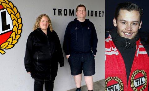 DRAMATIKK: Etter at Isberget først valgte Forza Tromsø-profil Morten Killingberg (t.h.) som ny leder, ble det omvalg. Da trakk Killinberg seg ut, og Karin Mikalsen (t.v.) ble valgt til ny leder. Her sammen med medieansvarlig Arne Johnsen.