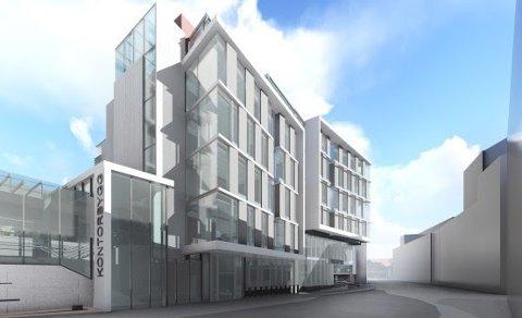 STORGATA 25: Her ved siden av Matservice skal ulike etater underlagt Kunnskapsdepartementet inn.