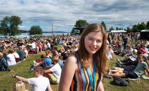 FREDVIKA: Den ferske festivalen har ikke fått noen henvendelser om svindel i år, opplyser festivalsjef Kari Houth Fjellseth.