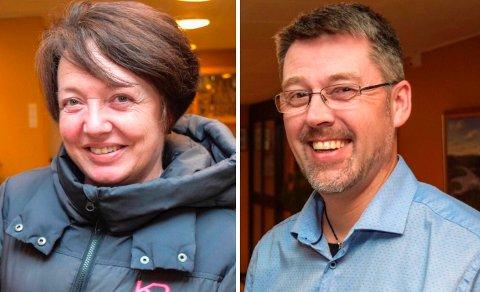 KRANGLET PÅ FACEBOOK: Kommunestyrerepresentantene Ann Kristin Dybhavn (H) og Roger Fløttum (uavhengig etter overgang fra Frp til Ap) røk i tottene på hverandre foran 2800 engasjerte søndrelandinger på Facebook.