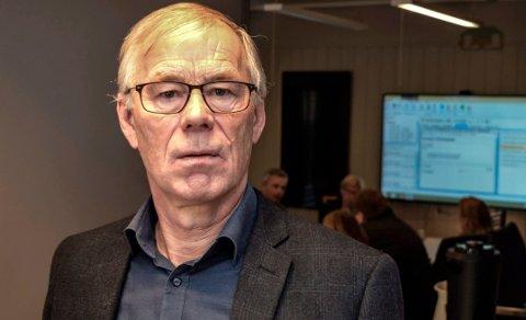 KATASTROFEKOSTNADER: Økonomisjef Ivar Dahl håper staten vil avhjelpe Østre Toten kommune med noe av kostnadene etter datainnbruddet i januar.