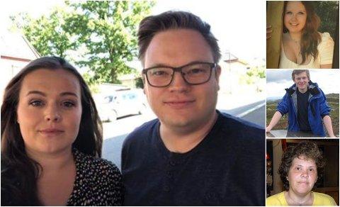 MINNES KAMERATENE: Ingrid Marie Vaag Endrerud og Even Aleksander Hagen minnes Even Flugstad Malmedal, Ida Beathe Rogne og Hanne Fjalestad som gikk bort i 22. juli-angrepet på Utøya.