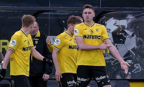 TILBAKE: Marius Alm er tilbake i midtforsvaret i lørdagens kamp mot Start.