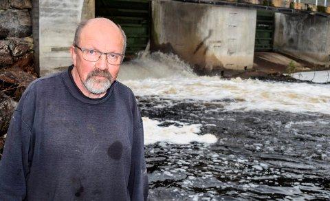 KLAGET: Grunneierlaget, her leder Kristen Granum, og kommunen mente flommen i Trevatna og Fallselva kunne vært unngått. Nå har NVE renvasket regulanten Vokks kraft.