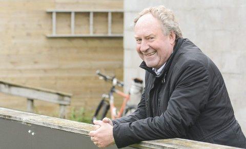 Positiv: Per Olav Helgeland i Fram håper et samarbeid vil kunne løfte flere larviksspillere opp i toppfotballen. Arkivfoto: Torgrim Skogheim
