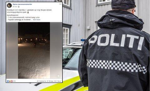 MORSOMT: Med dette Facebook-innlegget klarte nok politiet på Røros å få mange til å trekke litt på smilebåndet.