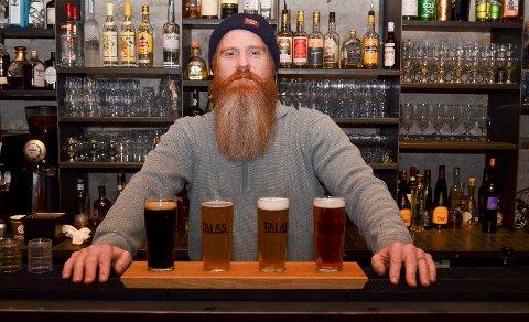 SKAL BRYGGE I HAMAR IGJEN: Jeremy Metzger, her fra tiden på Basarene, starter nytt bryggeri i Hamar, nå i Matkvartalet i Torgata 13.