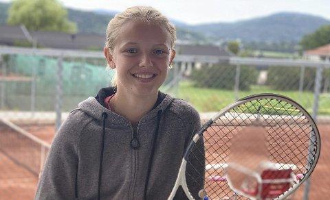 Lovende: Tilde Eliasson fra Porsgrunn Tennisklubb.