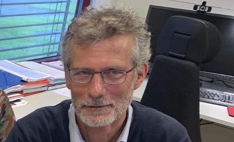 PROSJEKTSJEF: Morten Lossius er prosjektsjef i Nye Veier.