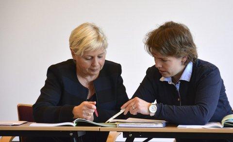 Bildetekst: Kommunalsjefen og jeg var enige om at ønsket vårt skulle bli protokollert, sier komitéleder Kjerstin Lundgård.