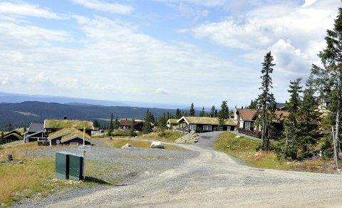 Nye tomter: Ikke langt fra dette området på Sjusjøen er det planlagt 48 nye hyttetomter. Nå møter prosjektet utfordringer både fra Fylkesmannen, naboer og Eidsiva.