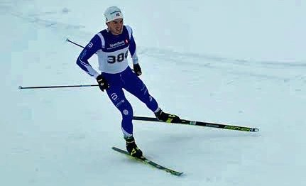 ANDREPLASS: Emil Sørgård fra Haugsbygd gikk et godt renn på Lygna søndag. Foto: Privat