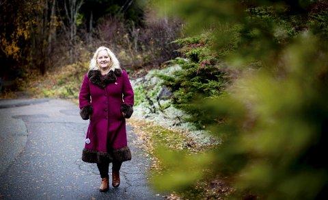 Forvalter: God økonomi gir frihet, men også et anvar for å forvalte verdiene til beste for kommende generasjoner, mener Aud Marit Veum (51). FOTO; LISBETH ANDRESEN