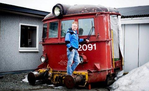 NEST BEST: – Jernbanemuseet var det beste da man ikke fant en plassering på Strømmen eller i kommunen, sier Thomas C. Simensen.