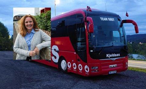 KJØRER TIL FOLKEMØTET: Kjeldaas stiller også med buss som vil ta med folk som ønsker å stille på møtet