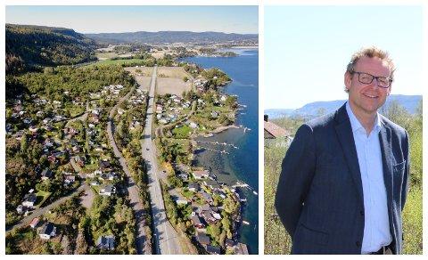 POPULÆRT: Mange ønsker seg hytte på Holm eller andre kystnære steder i Sande. Eiendomsmegler Per Øyvind Bolstad forklarer hva som har skjedd i det lokale hyttemarkedet.