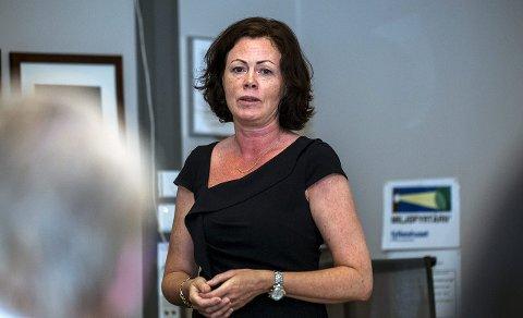 TIL SARPSBORG: Statsråd Solveig Horne kommer til Sarpsborg for å åpne oppstartssamlingen for det nye Tjenestestøtteprogrammet. Dette skjer tirsdag 31. oktober.