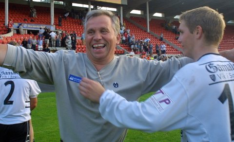 HERR SOGNDAL: Rolf Navarsete var spelar for Sogndal IL fram til 1977, og var leiar i Sogndal Fotball frå 1980 til 2009.