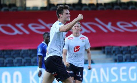 PÅ VEG UT: Sogndal er samde med HamKam om ein overgang for Kristoffer Hoven (24), ifølgje Hamar Arbeiderblad.