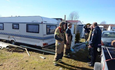 BRANN: En person er død etter campingbrannen i mars, mens en fortsatt er skadd.
