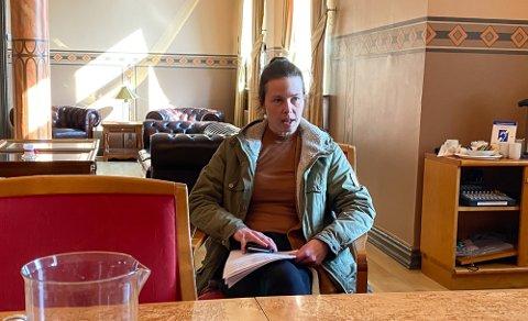 FULL ÅPNING: Kommuneoverlege Anne Gunhild Waagsbø-Kjellsen anbefaler full gjenåpning av Skien og bruk av nasjonale regler.
