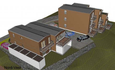 Naboer i Grethes vei på Glastadheia er ikke begeistret for utformingen de planlagte leilighetsbyggene har fått.