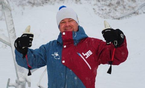 Daglig leder Richard Palmgren i Varingskollen alpinsenter.