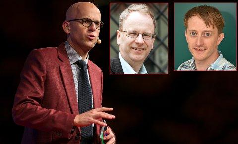 FOREDRAGSHOLDERE: Andreas Ekström, Henrik Syse og Morten Goodwin er kun tre av mange som skal holde foredrag på teknologikonferansen 9. mai.