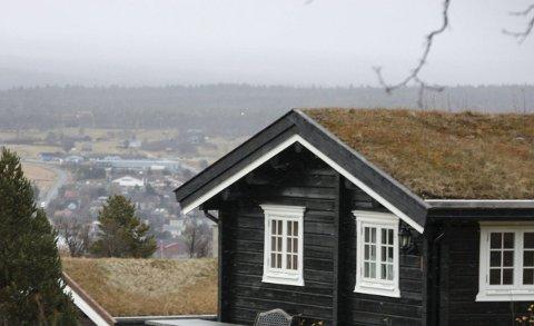 RØROS ER STØRST: Røros er den største hyttekommunen i regionen.  Illustrasjonsfoto: Tor Enget