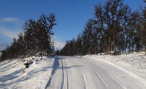 I Vingelen er det perfekte forhold for sesongens første skitur
