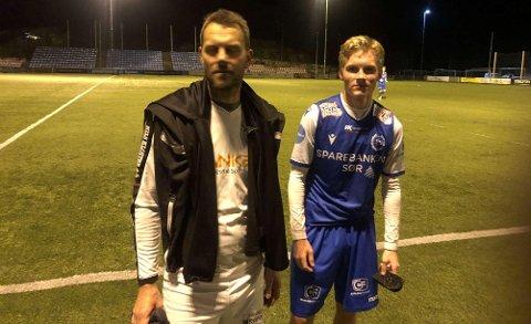 Ekstra hyggelig var det også å se Svens sønn Aksel i aksjon for hjemmelaget Fløy i kamp mot både far og tidligere lagkamerater fra tiden som KIL-spiller.