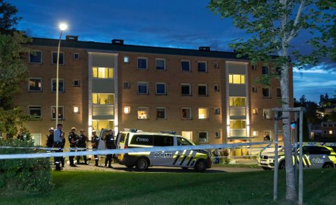 HARDT SKADD: To unge menn ligger fortsatt hardt skadd på Ullevål sykehus etter at de ble skutt inne på T-banen på Skøyenåsen.