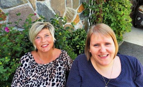 Linda Røyseth Sandhåland (t.h.) og Kjersti Wiik har gitt ut lokal barnesongbok på nett. Dei trur det er ein av dei første gongane ein vel ei slik undervisningsplattform for folkemusikkformidling.
